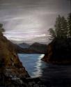 8 PM at Curmis Island ,BC