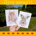 ❤︎❤︎❤︎ Giveaway on Instagram!! ❤︎❤︎❤︎