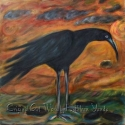 Long Legged Crow