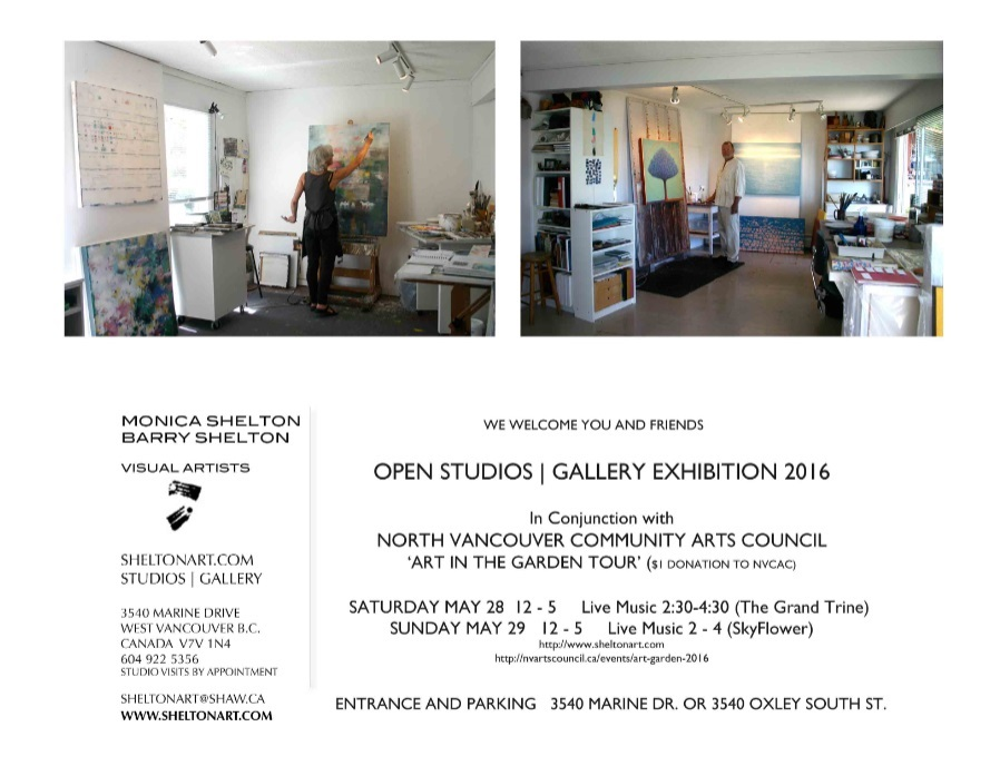 2016 Studio|Gallery|Garden Exhibition in conjunction with NVCAC